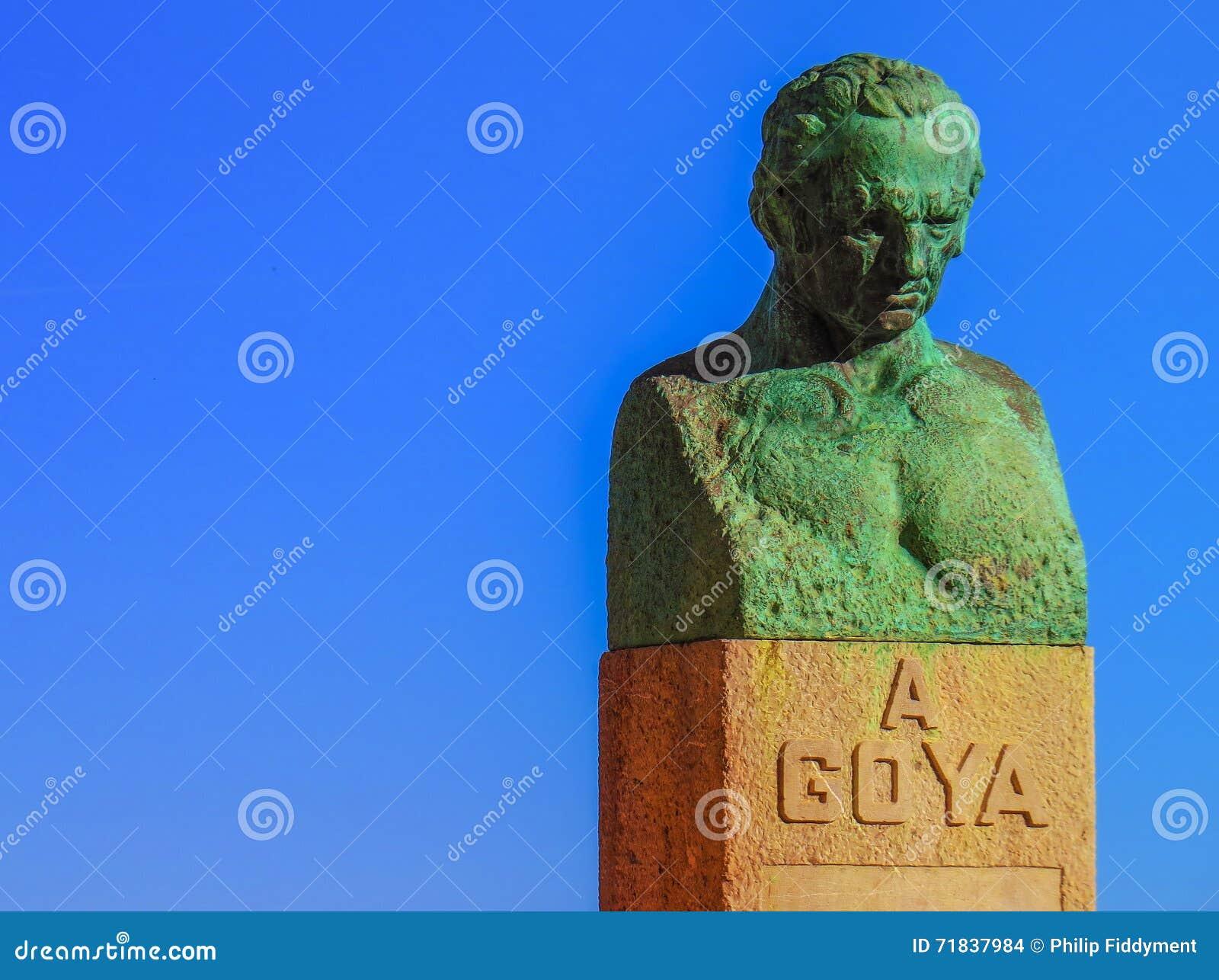 Fuendetodos Goya Statue