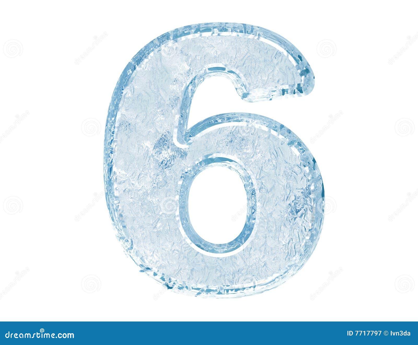 Fuente del hielo. Número seises