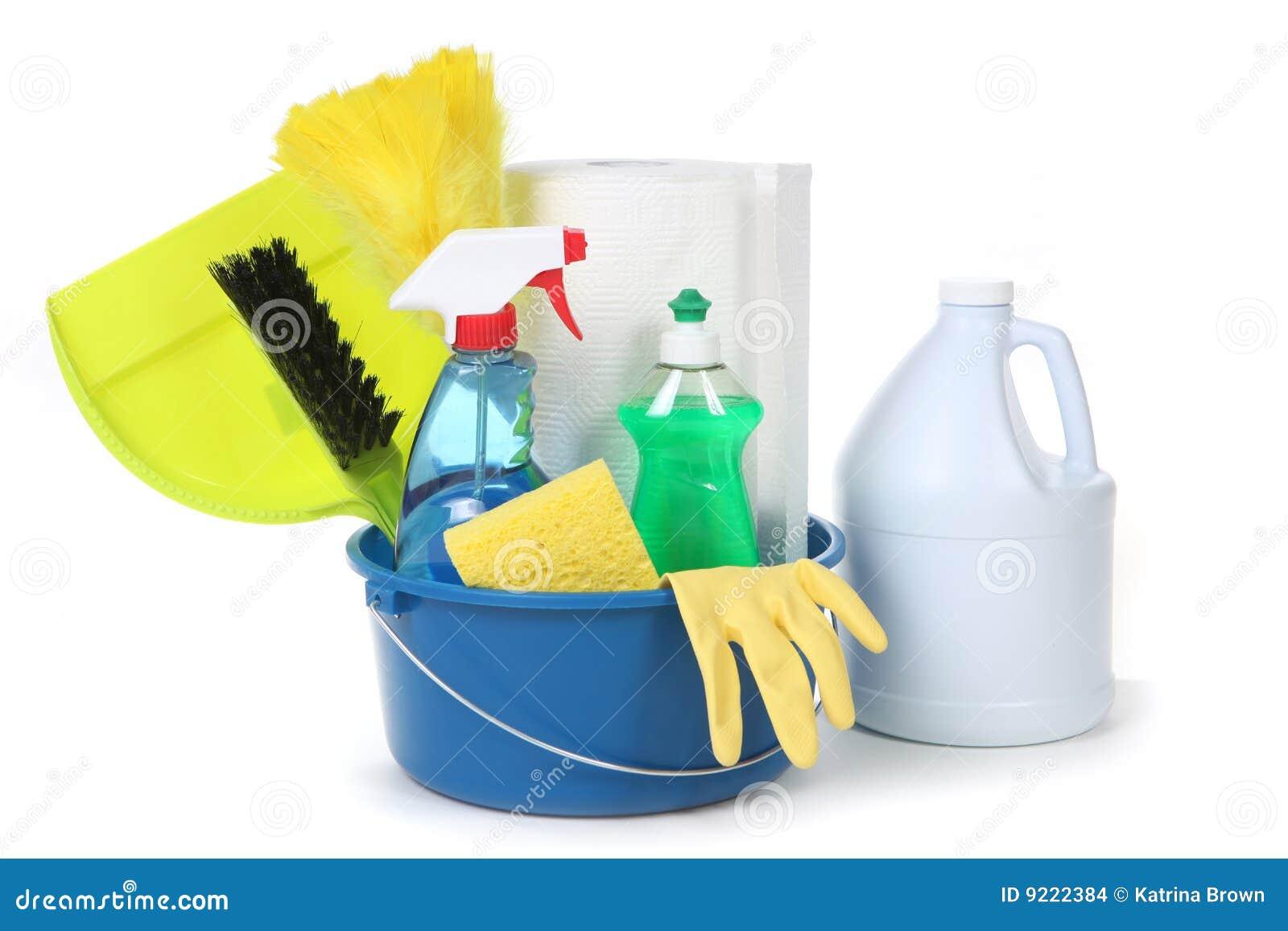 Fuentes de limpieza para el hogar imagenes de archivo - Limpieza de hogares ...