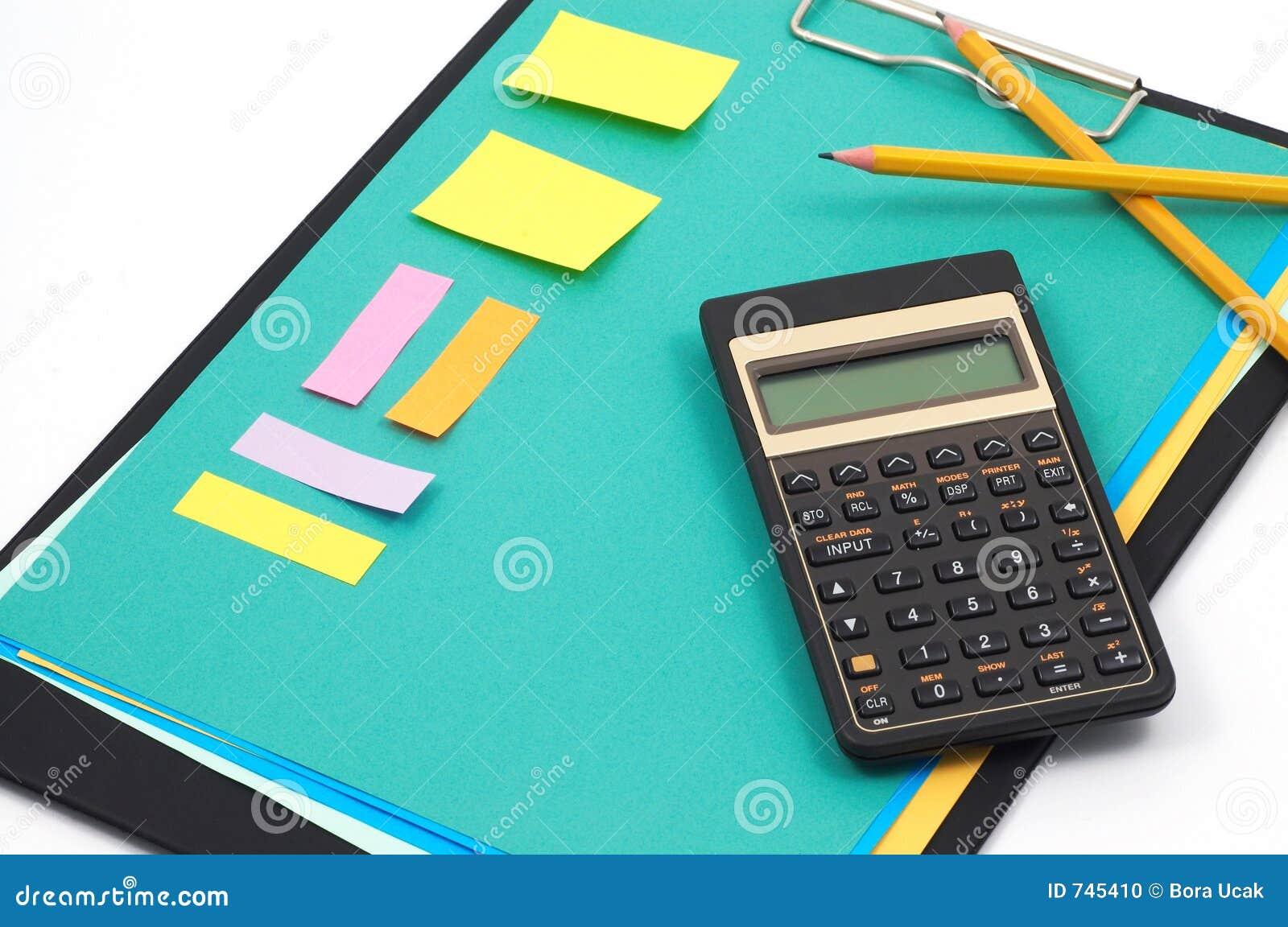 Fuentes financieras de la calculadora y de oficina