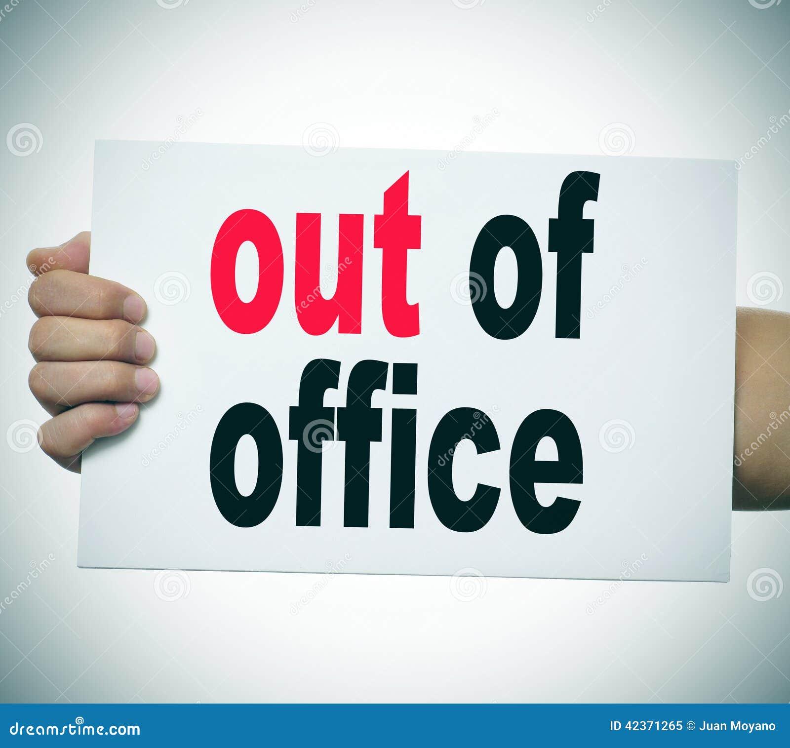 Fuera de oficina foto de archivo imagen 42371265 for Fuera de oficina gmail