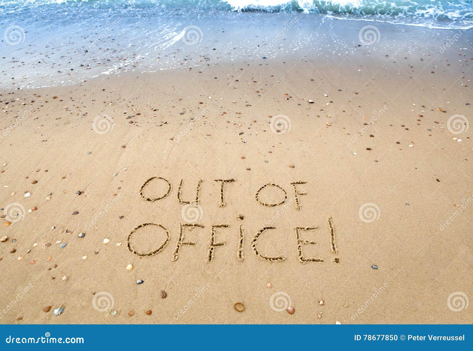 Fuera de oficina foto de archivo imagen de holiday for Fuera de oficina gmail