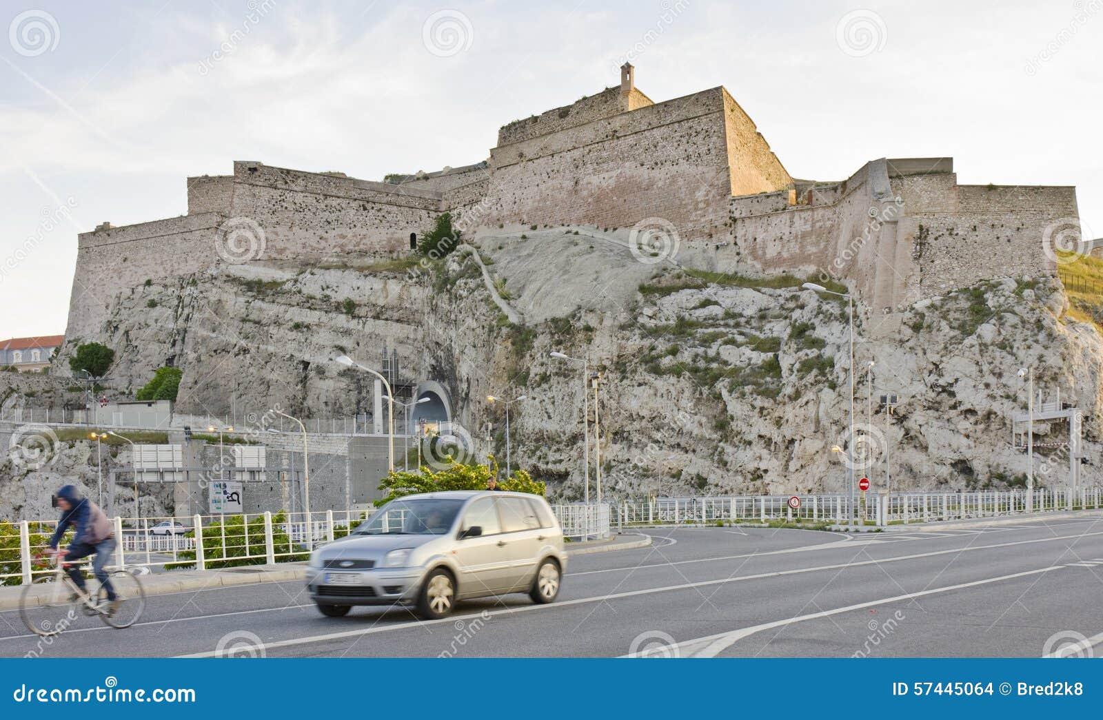 Fuerte de Entrecasteaux, Marsella