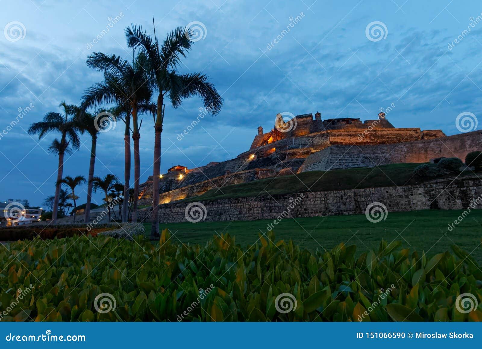 Fuerte de San Felipe de Barajas in Cartagena 2
