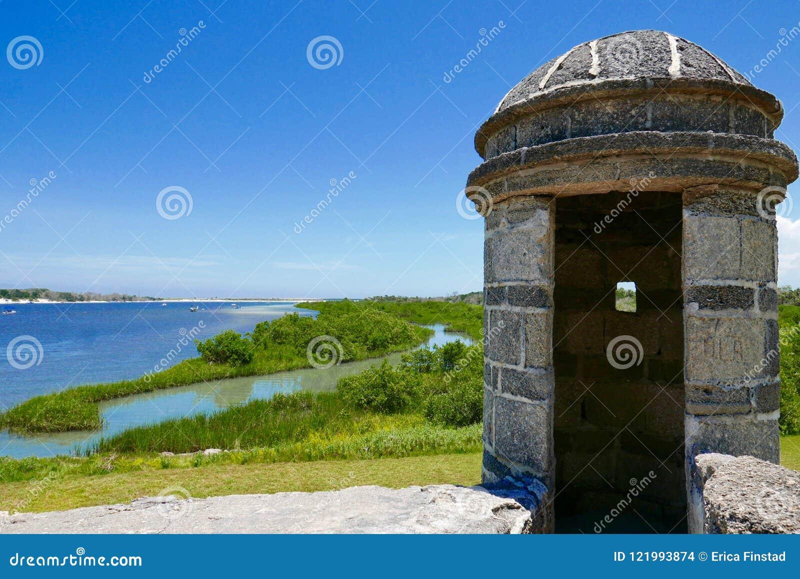 Fuerte Matanzas, St Augustine, la Florida, los E.E.U.U.