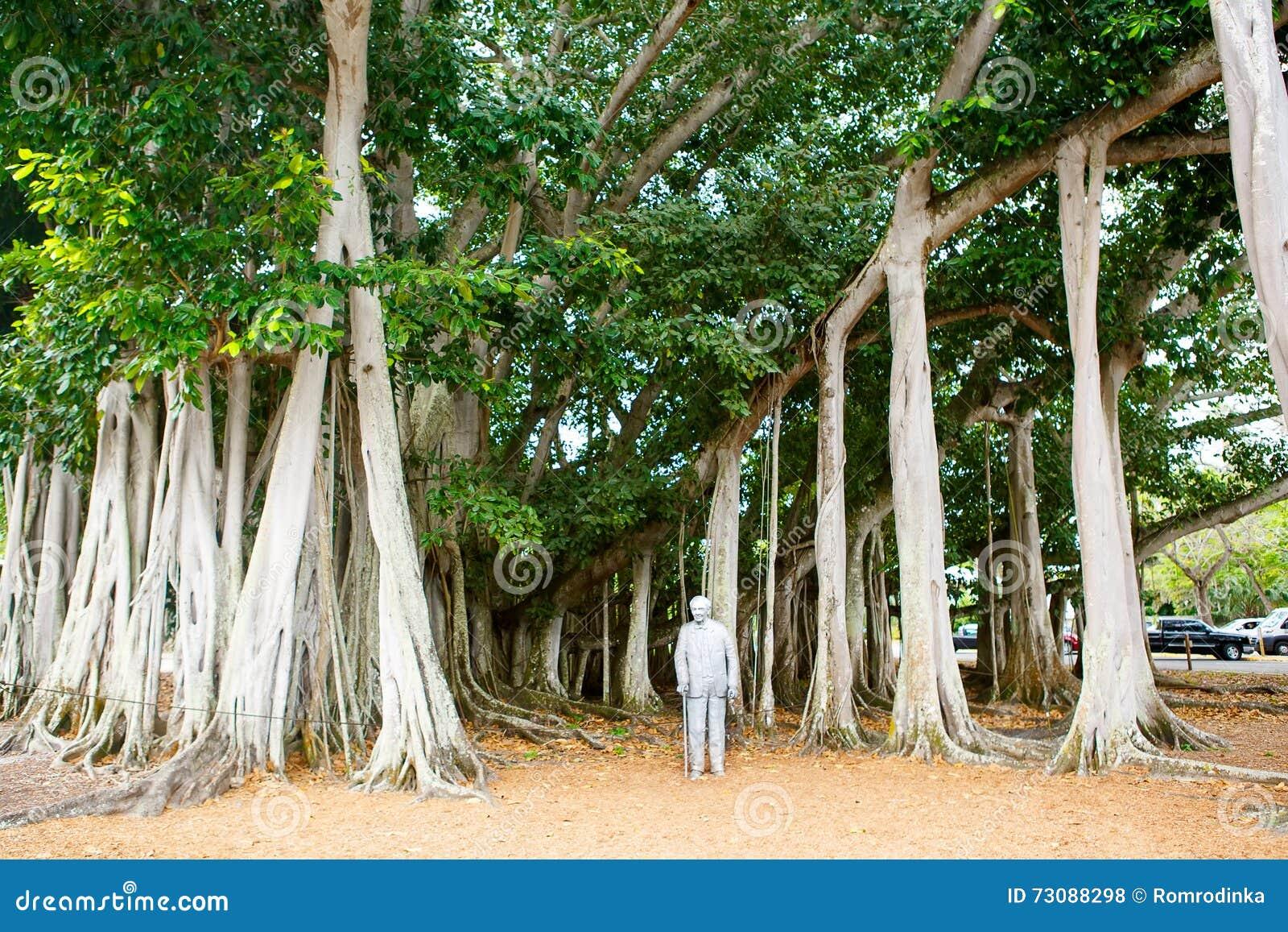 FUERTE MYERS, LA FLORIDA 15 DE ABRIL DE 2016: Fuerte Myers Florida, Thomas Edison