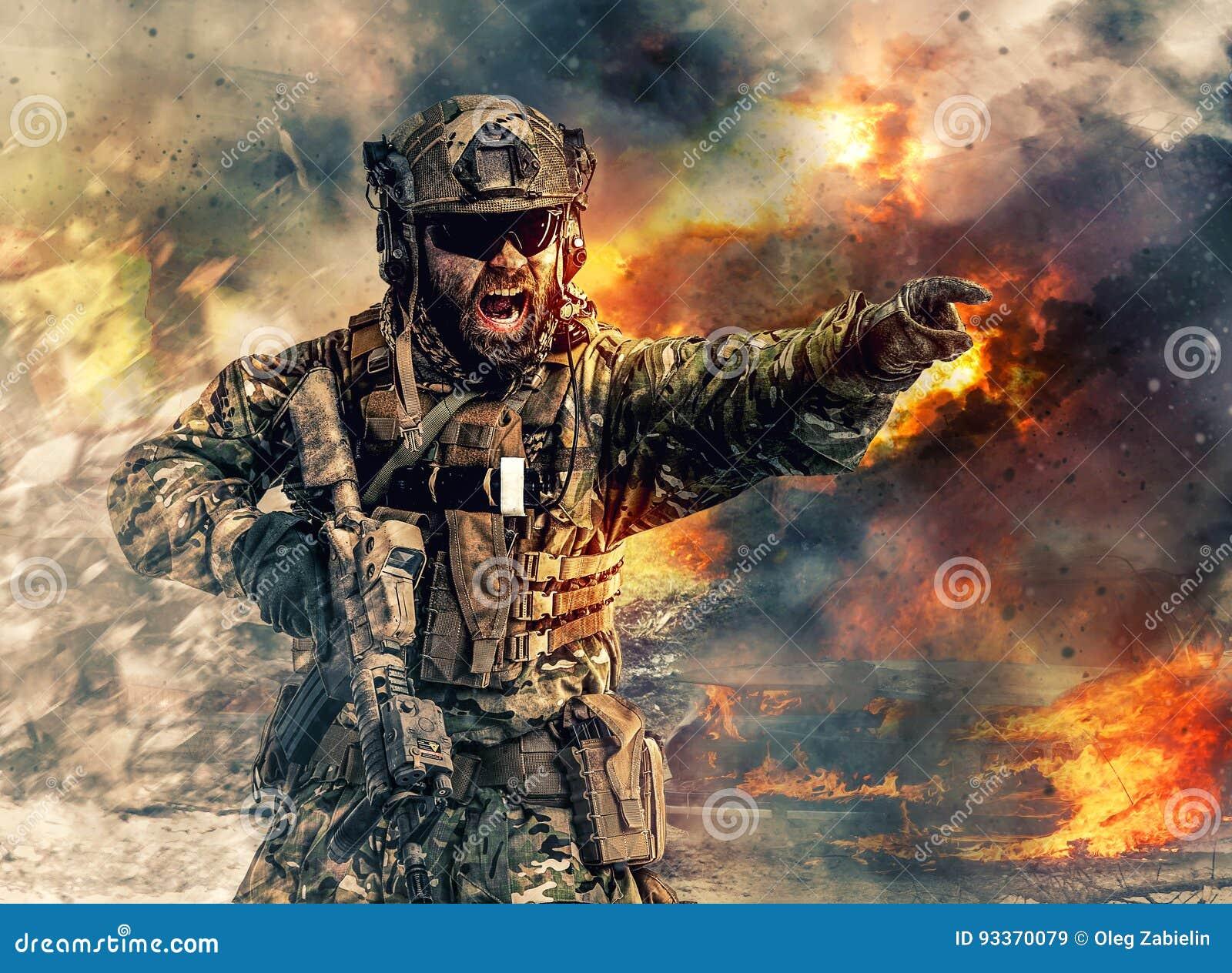 Fuerzas especiales en la acción
