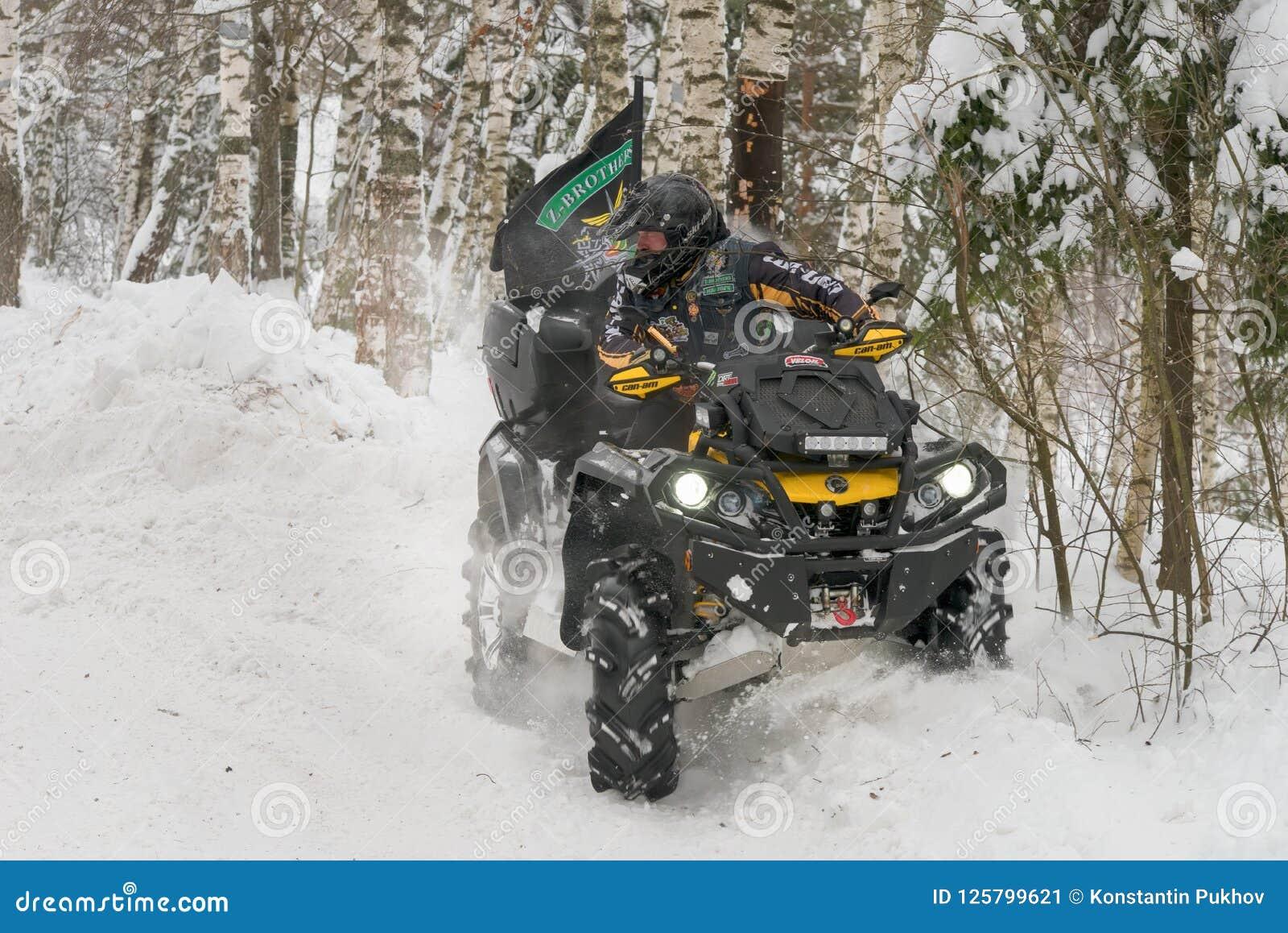 Fuhr in eine tiefe Schneewehe