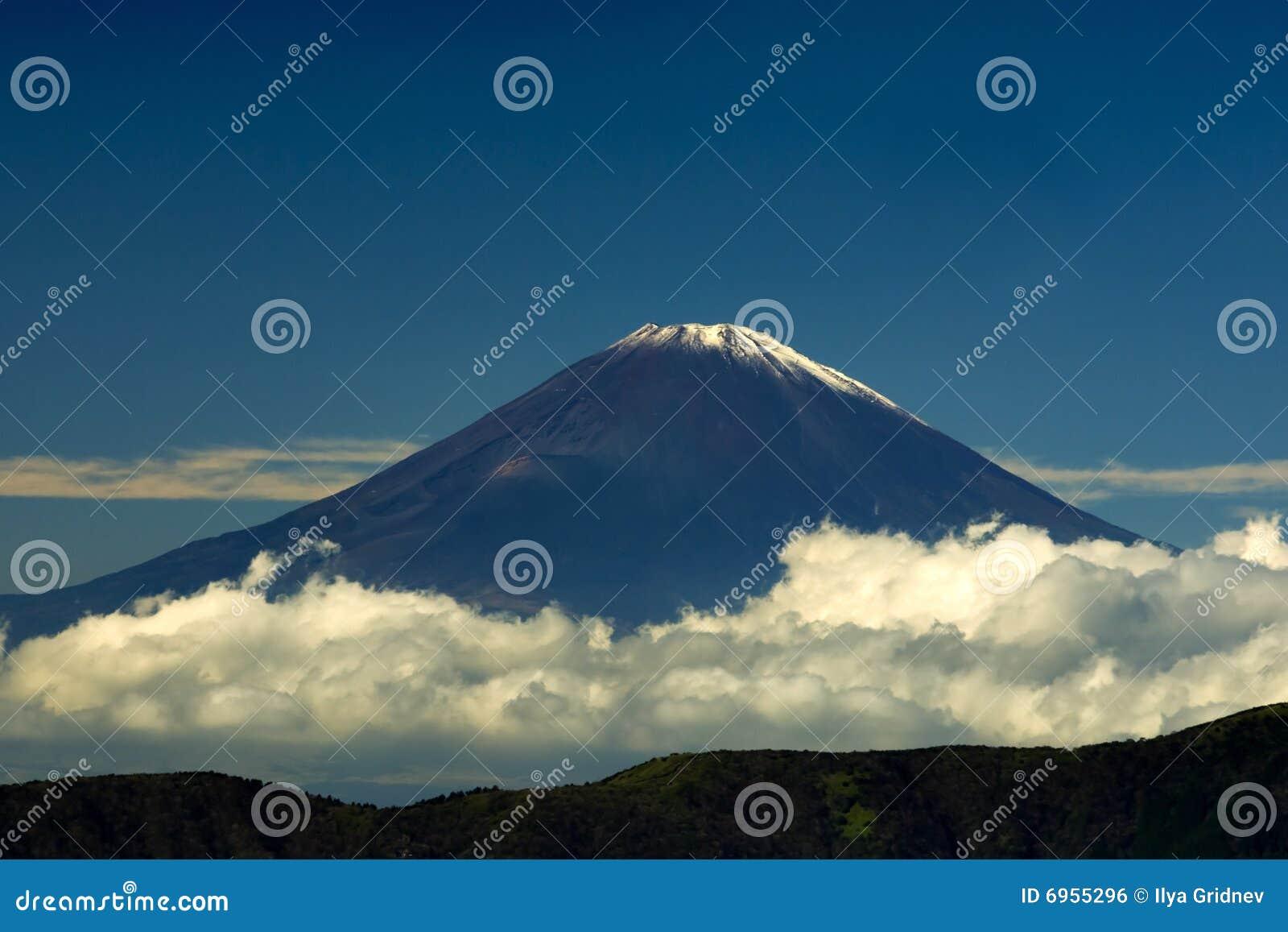 Fuji bergsikt