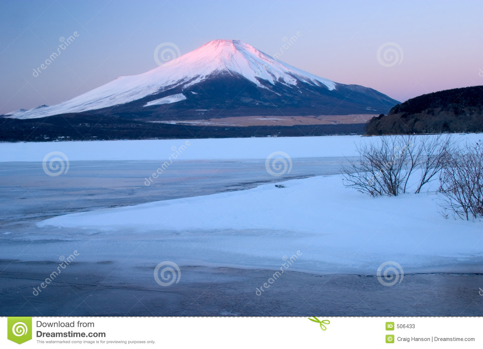 Fuji monteringsvinter