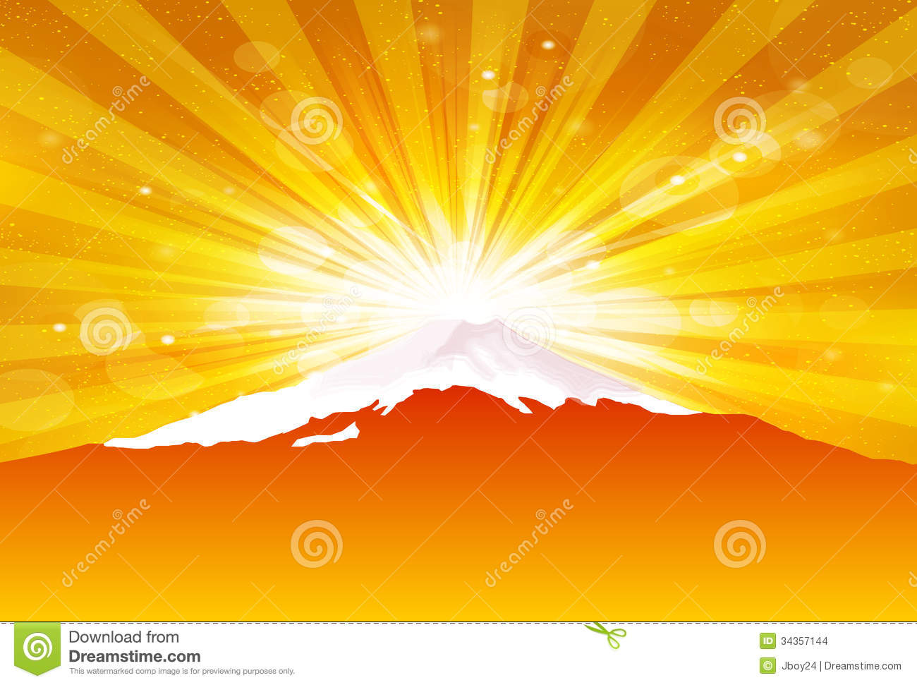 Fuji New Year S Greeting Card Background Stock Images ...