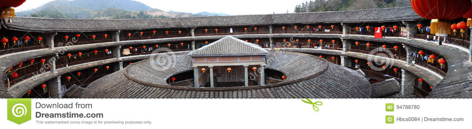 Fujian earthen struktury