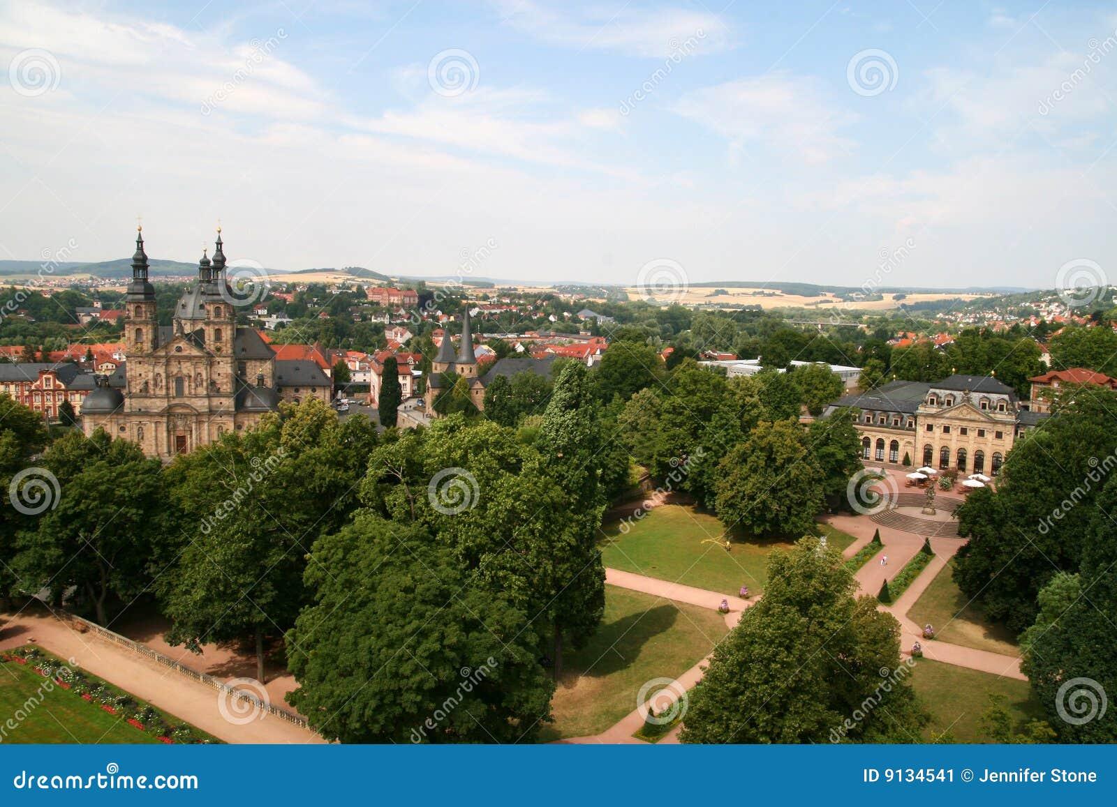 Fulda Germany  city photos gallery : Fulda, Germany Stock Image Image: 9134541