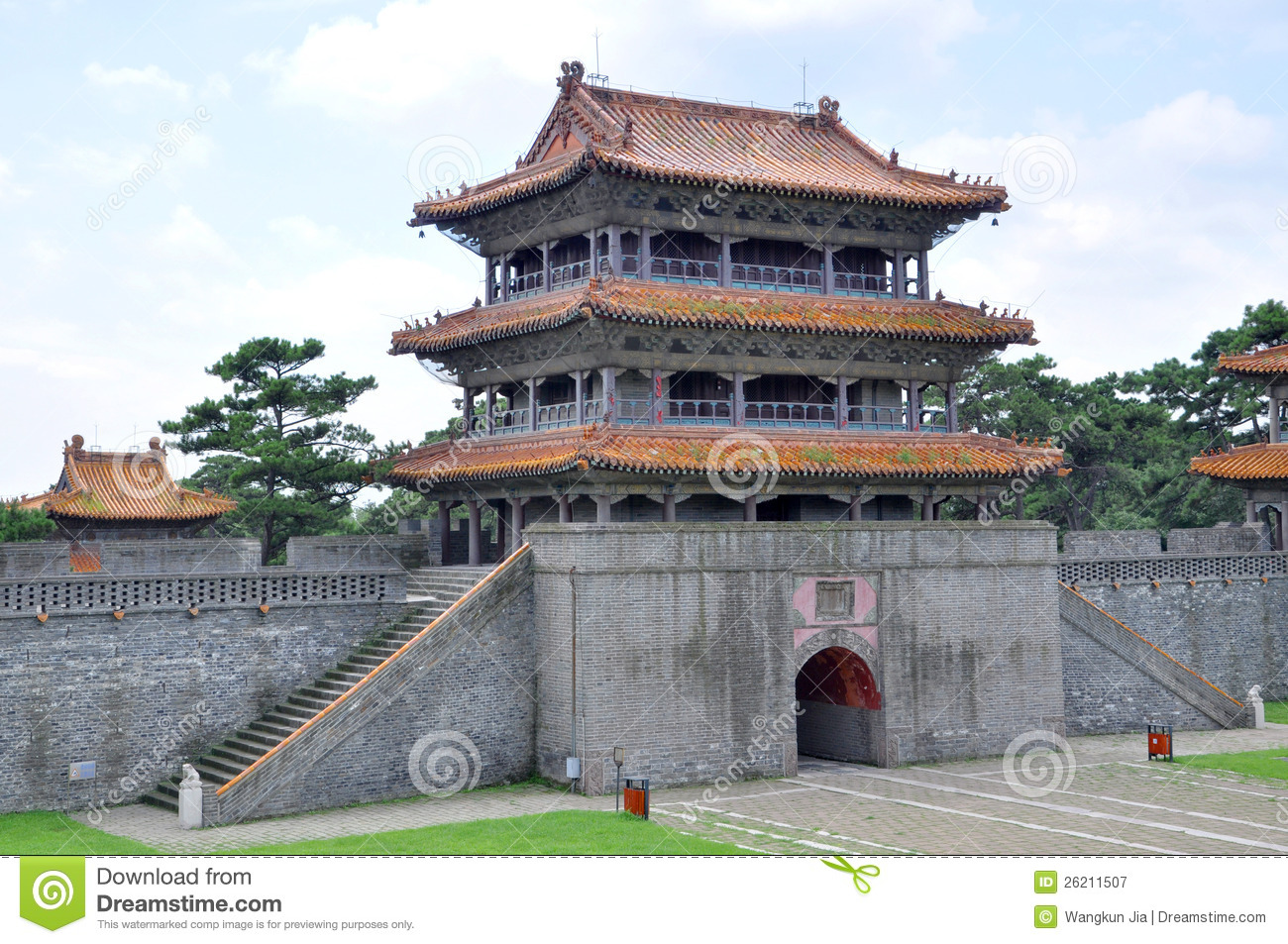 Qin Dynasty Architecture Fuling tomb of qing dynasty Qin Dynasty Architecture
