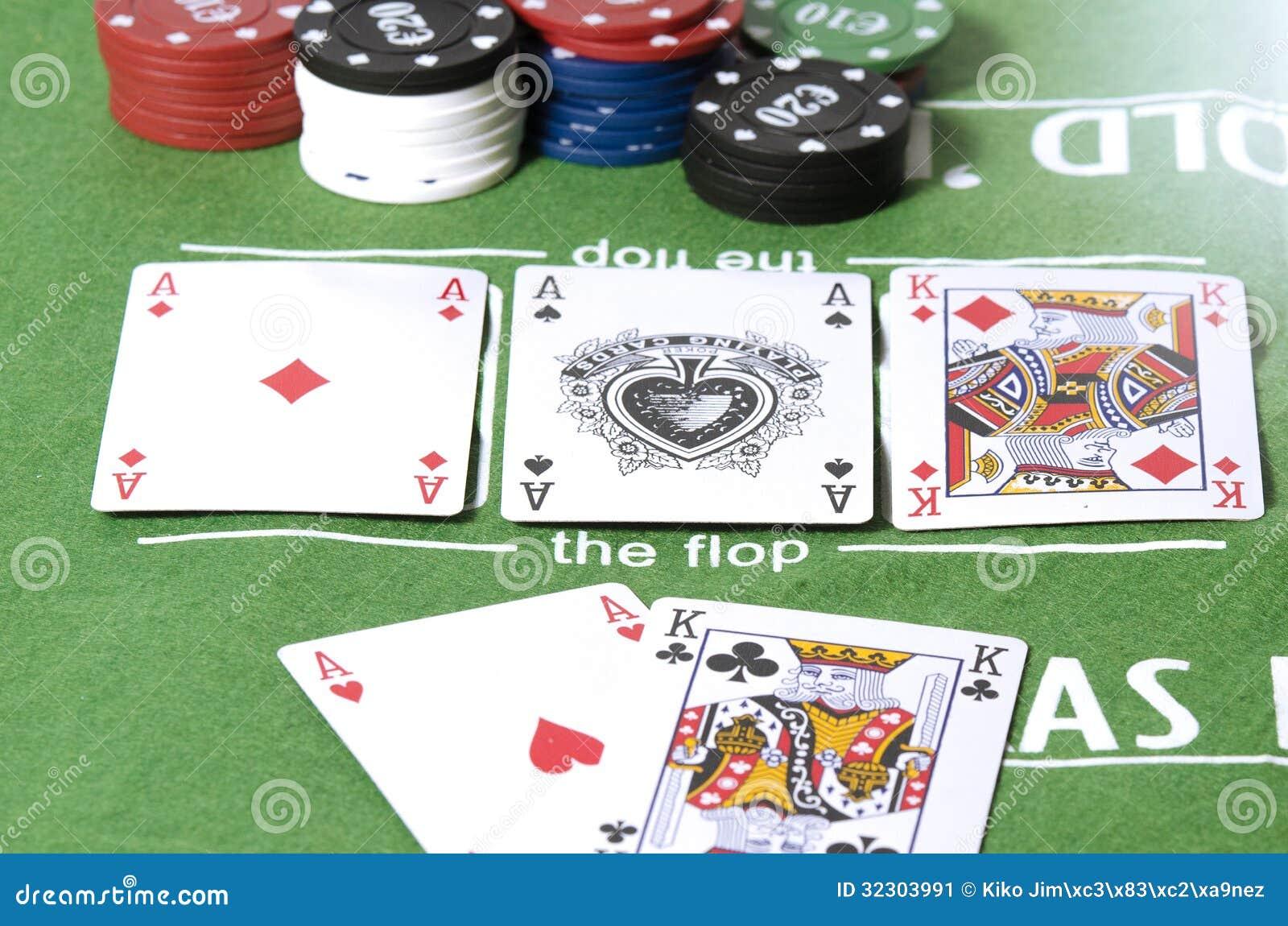 aces full of kings poker room