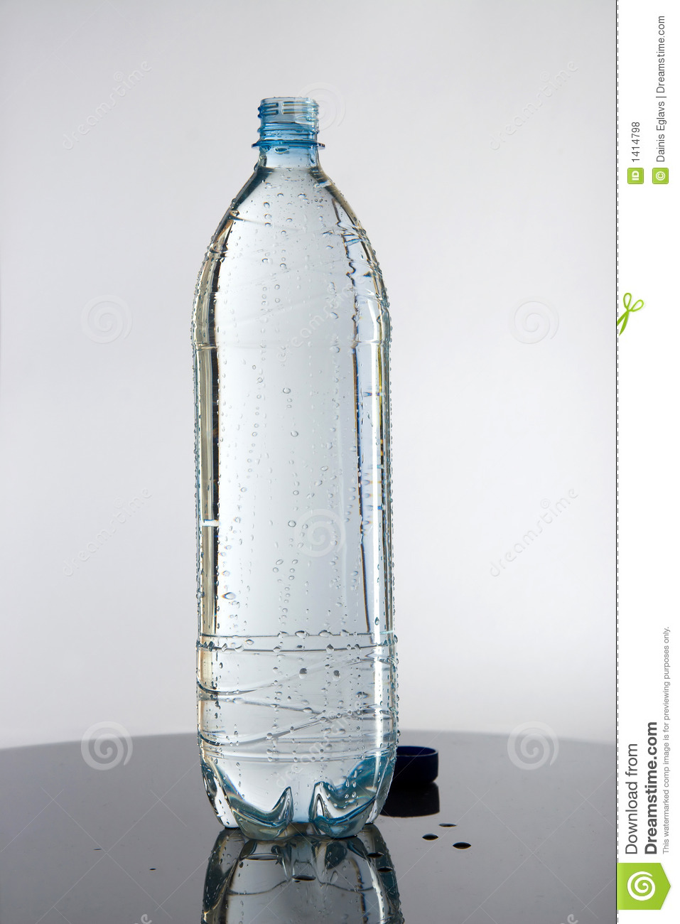 Full Bottle Of Water Royalty Free Stock Photos - Image: 1414798