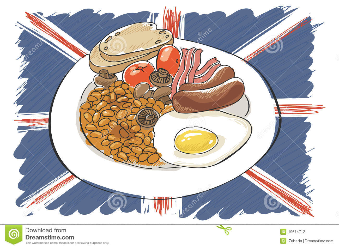 full english breakfast stock photography image 19674712 british flag vector image british flag vector free download
