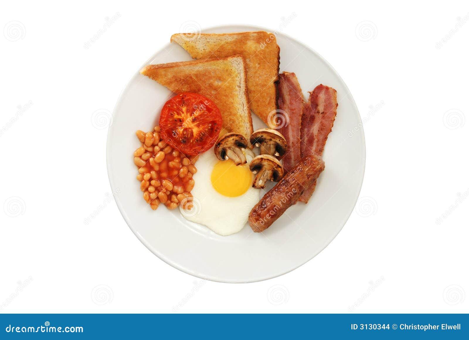 full english breakfast stock images image 3130344