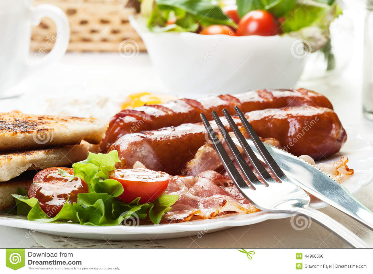 how to cook english breakfast sausage