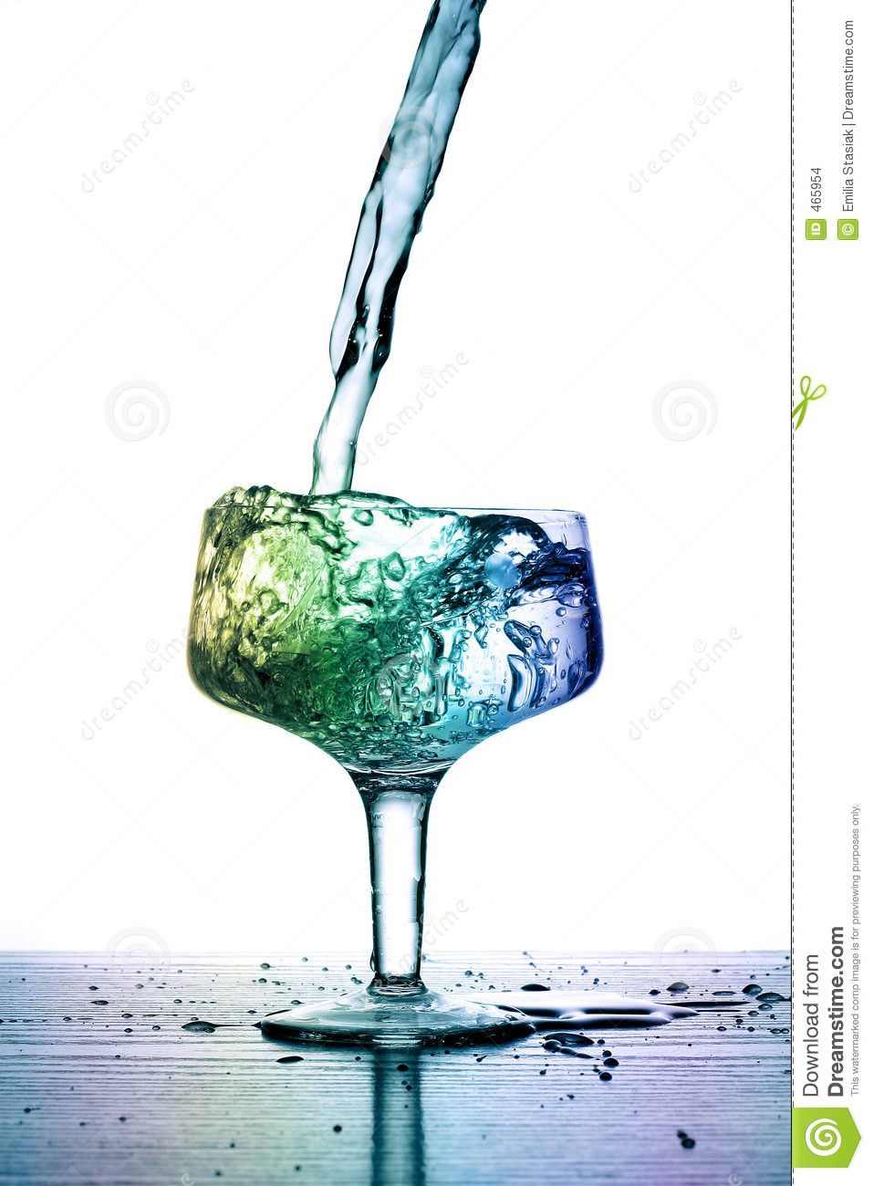 Download Full glass stock photo. Image of opportunity, liquid, drink - 465954
