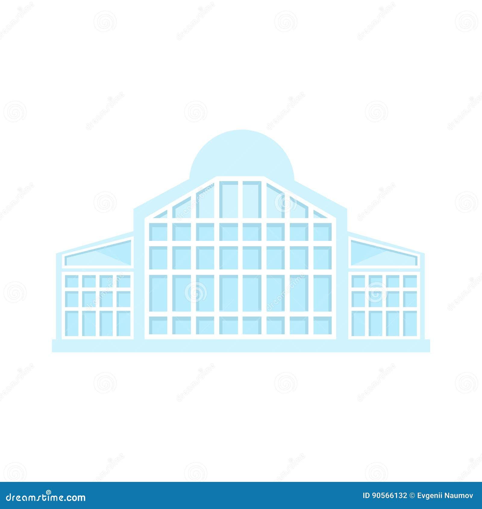 Full glss light shopping mall modern building exterior for Modern commercial building exterior design