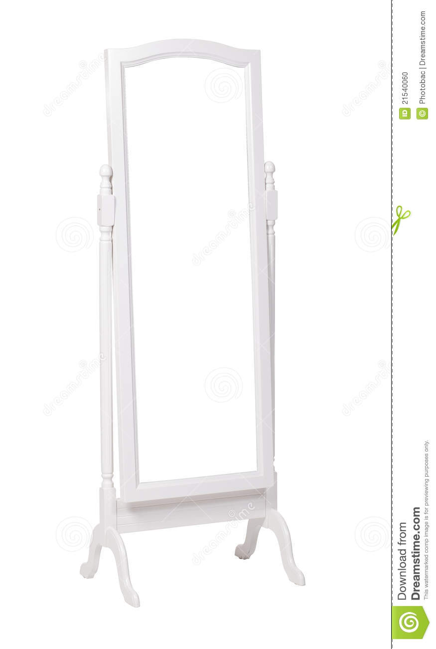 Full length dressing mirror on stand with path stock for Standing glass mirror