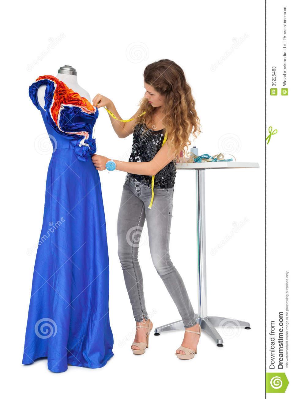 Full Length Female Mannequin Royalty Free Stock Photo