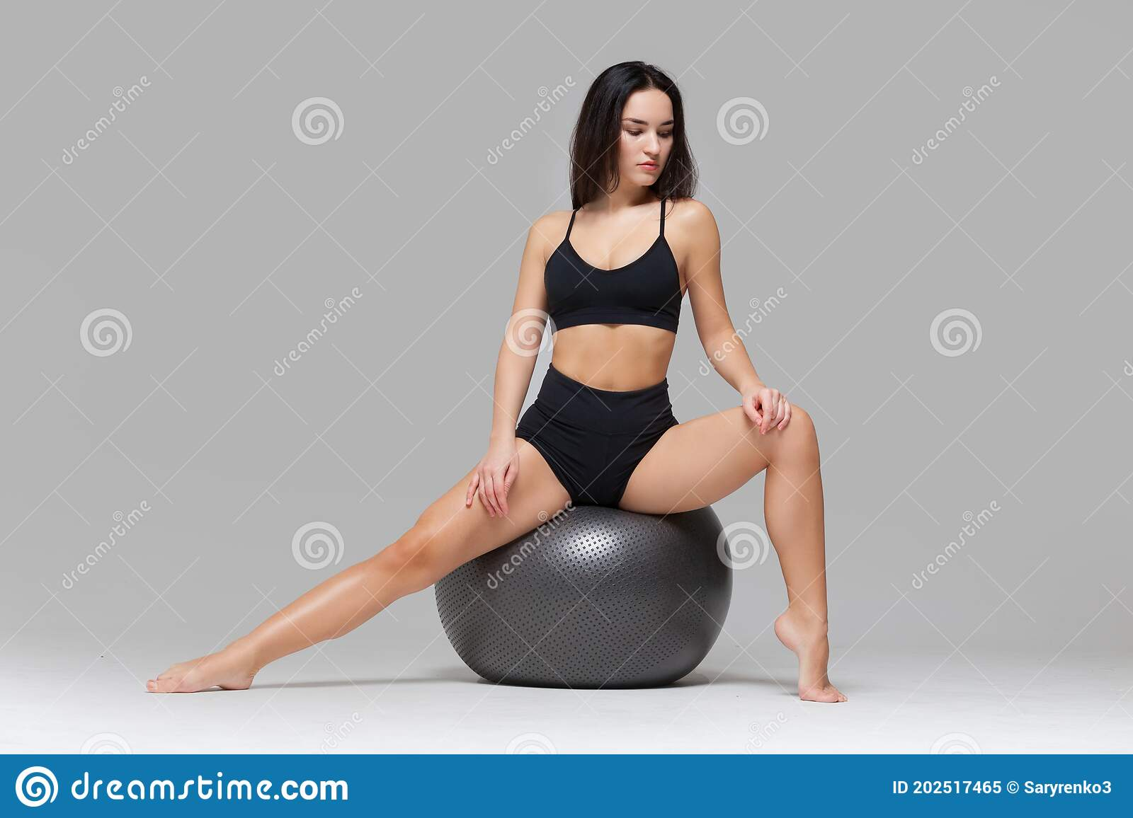 Stretching pictures ball Scrotum stretching