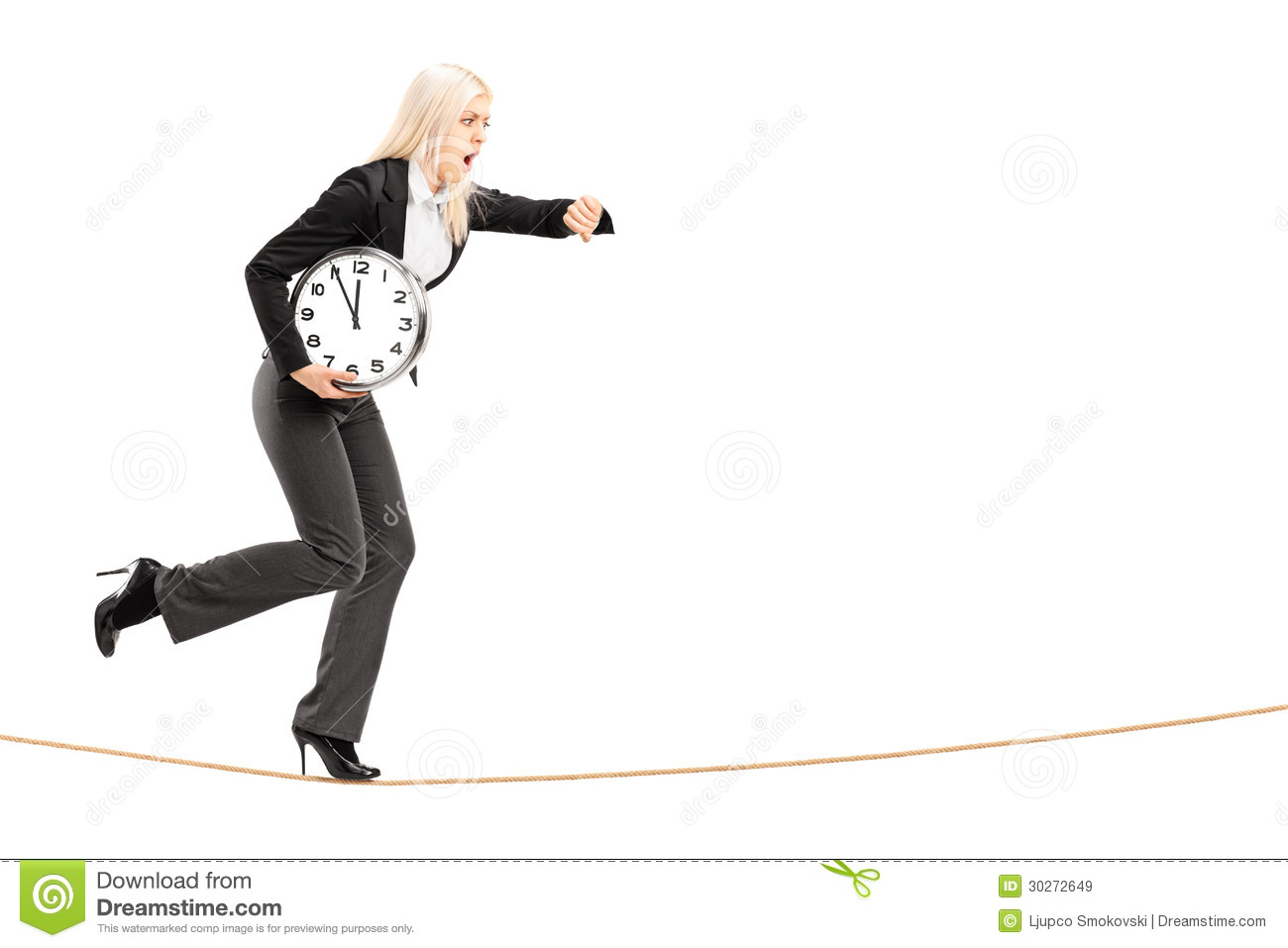 People Running Late