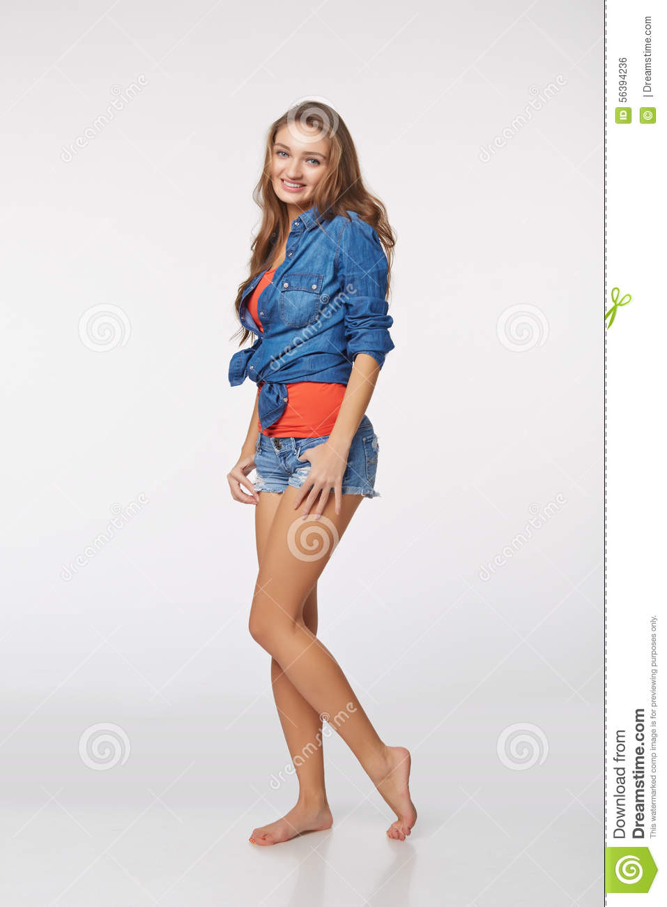 Girl Sides Stock Images