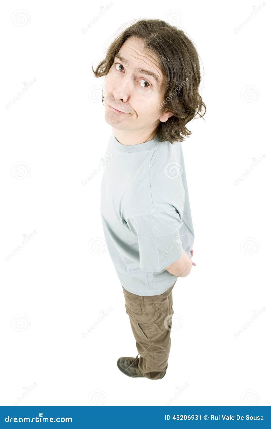 Download Full man för huvuddel fotografering för bildbyråer. Bild av vanligt - 43206931