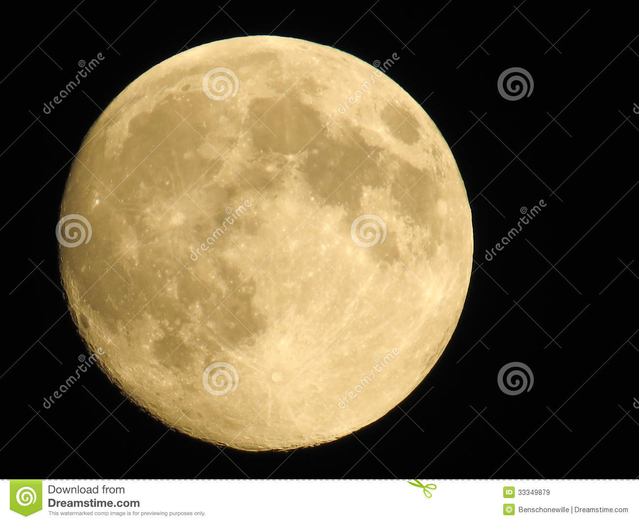 Full Moon Royalty Free Stock Images - Image: 33349879