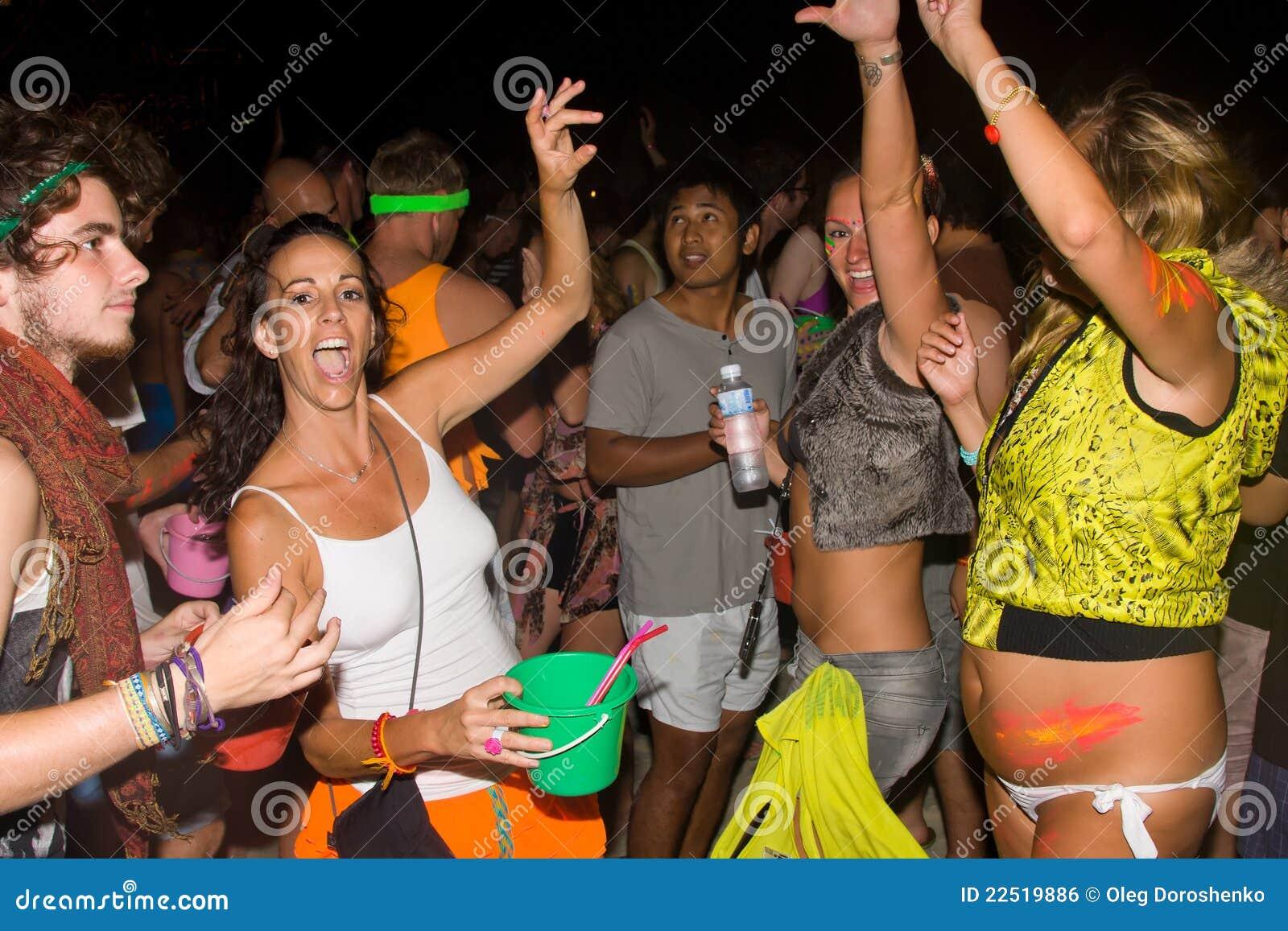 Full Moon Party In Phangan Thailand Editorial Photo