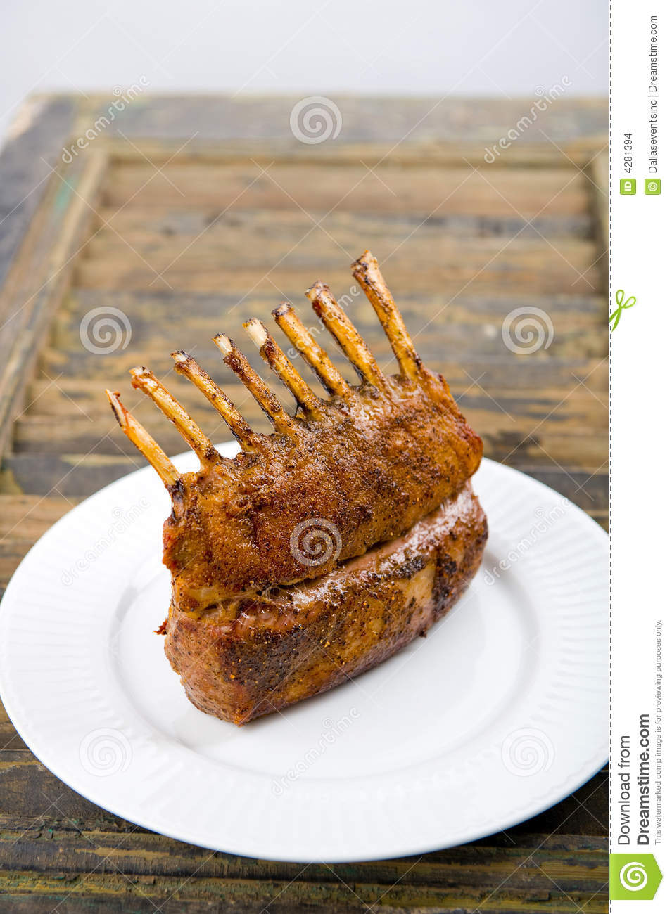 how to cook full rack of lamb