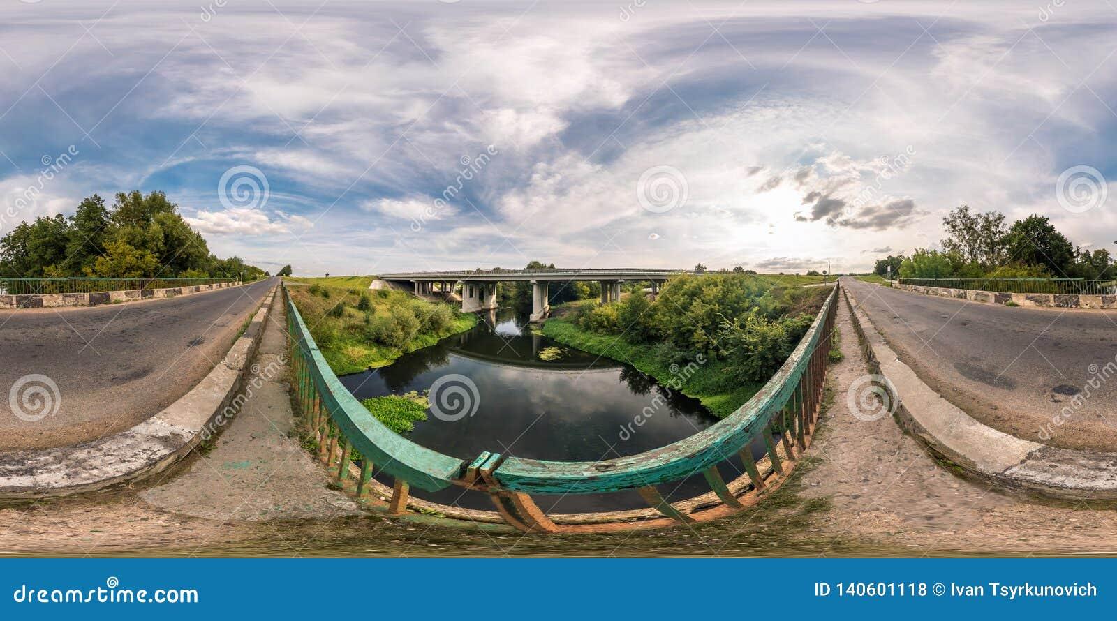 Full Seamless Spherical Panorama 360 By 180 Angle View Near Big Huge
