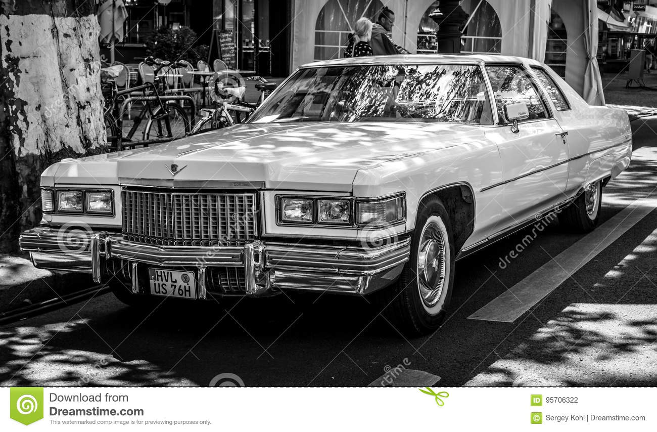Full-size Luxury Car Cadillac Coupe De Ville Fourth ...