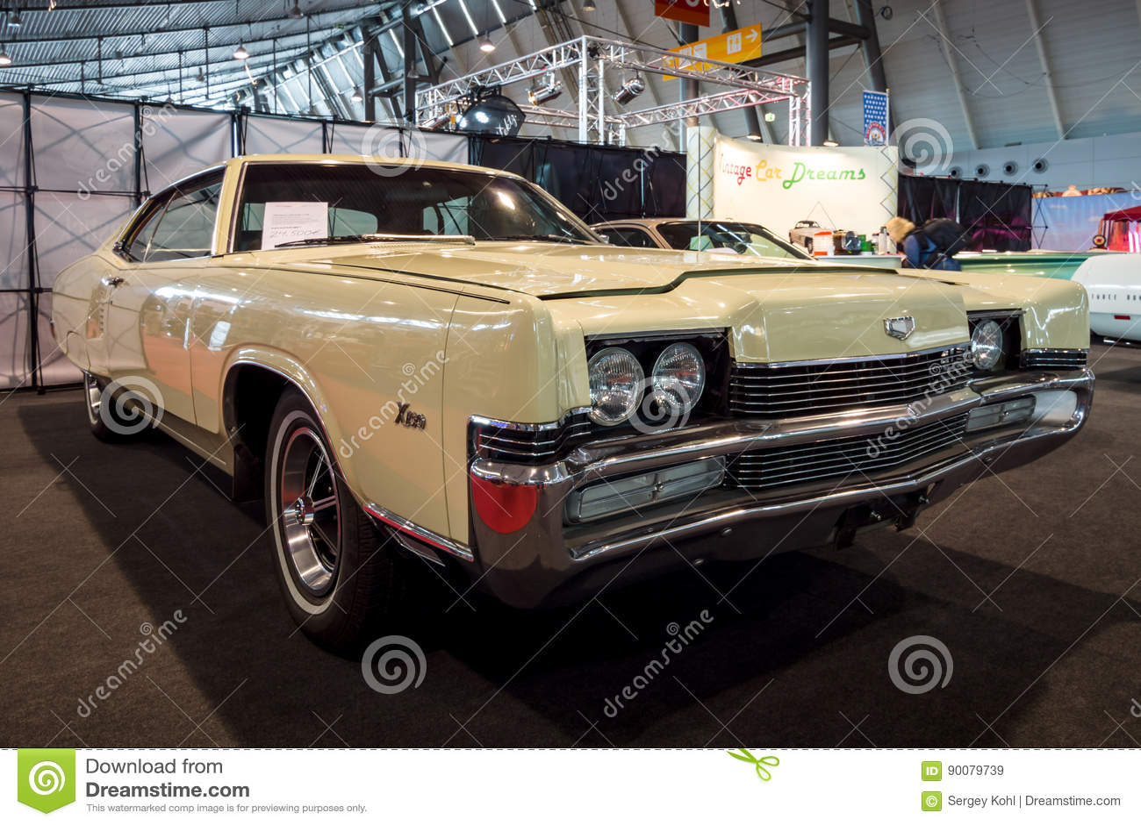 Full-size personal luxury car Mercury Marauder X-100, 1969.