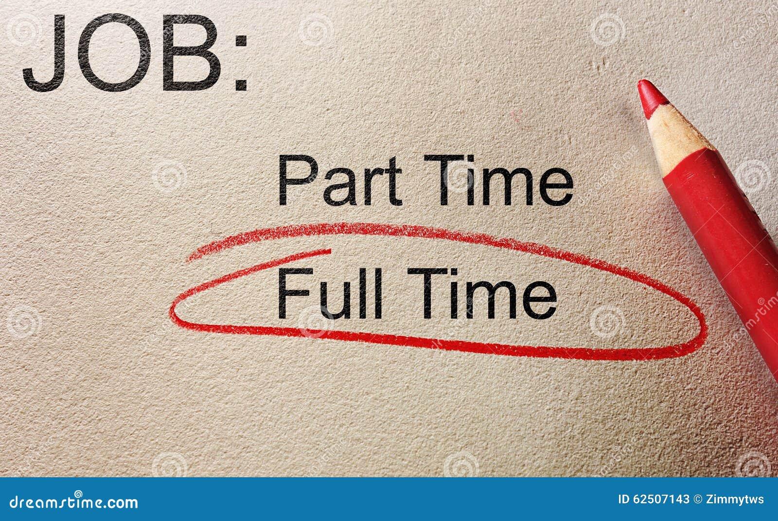 full time job stock photo   image 62507143