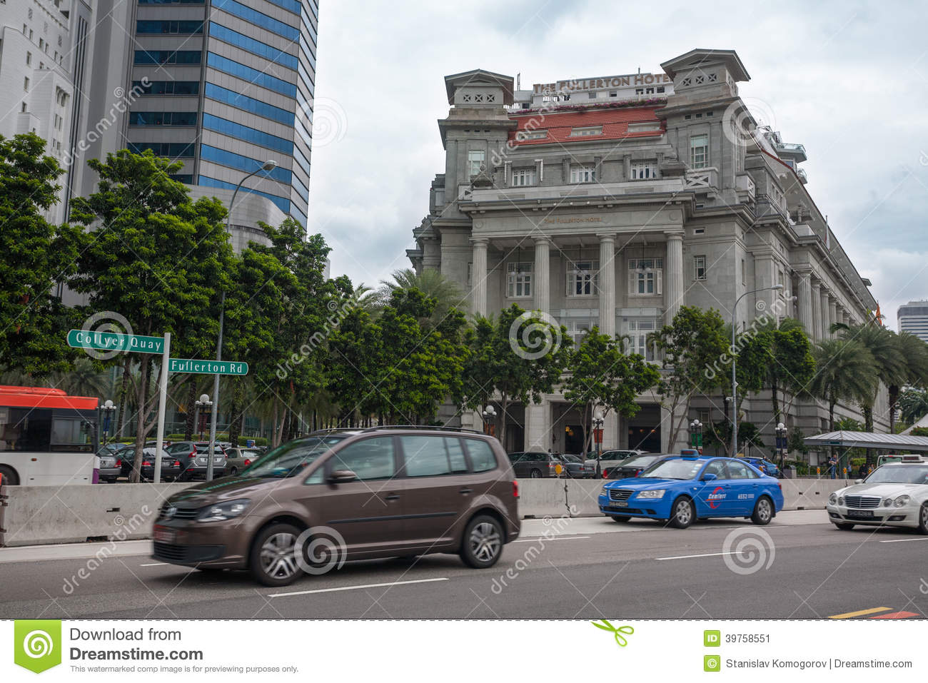 The Fullerton Hotel Singapore | Hotels Near Singapore CBD