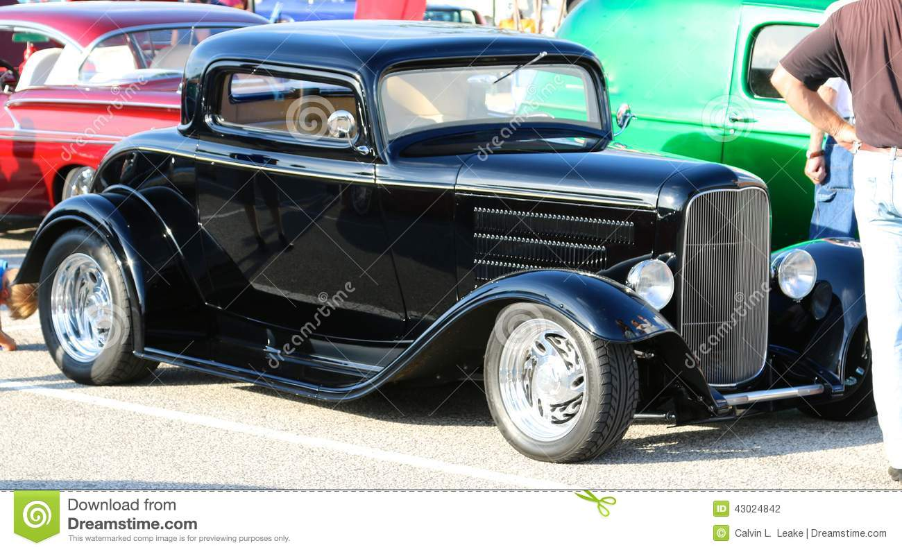 hot rod muscle car editorial photography