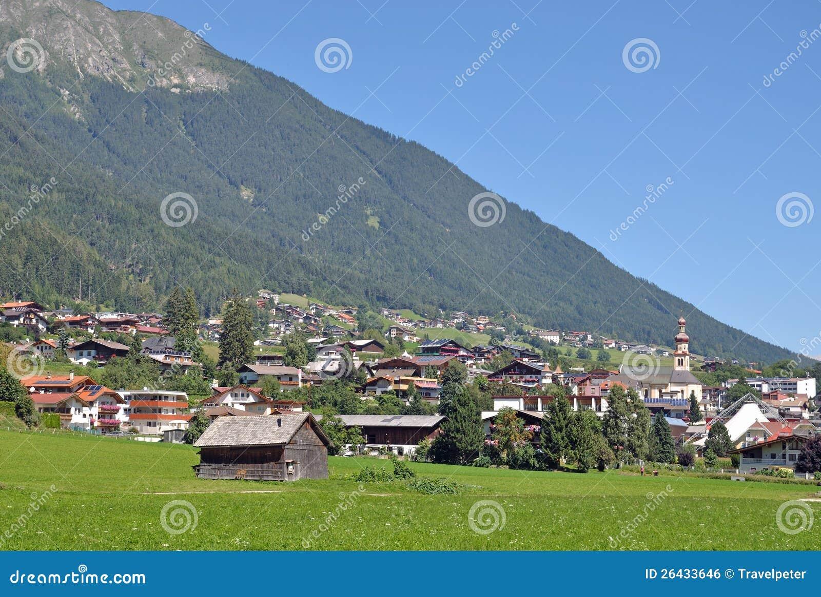 Fulpmes Austria  city pictures gallery : Fulpmes,Stubaital,Tirol,Austria Royalty Free Stock Image Image ...