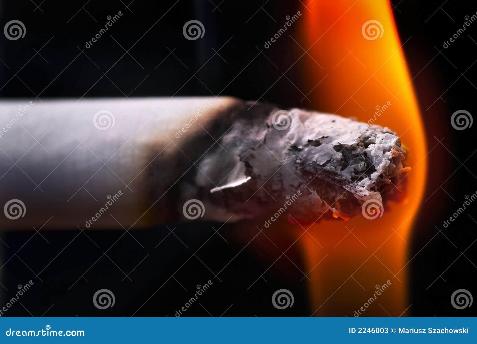Fumée et cigarettes