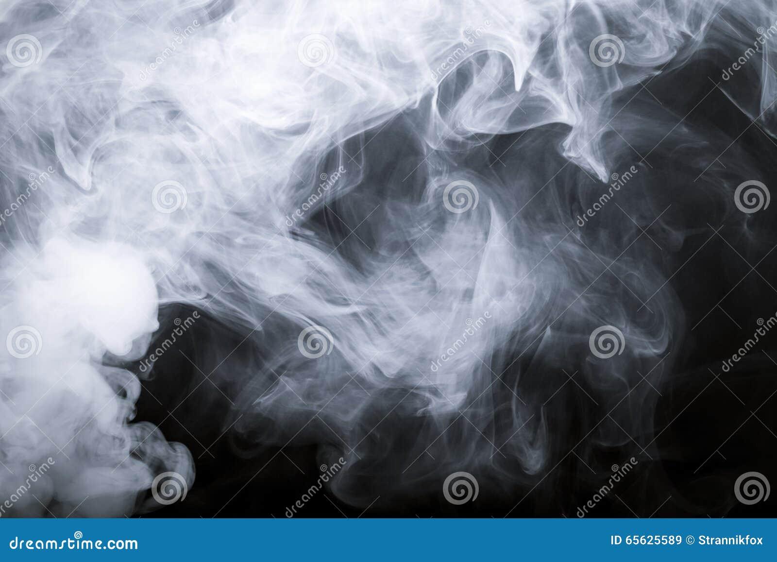 Fumée noire de fond defocused toned