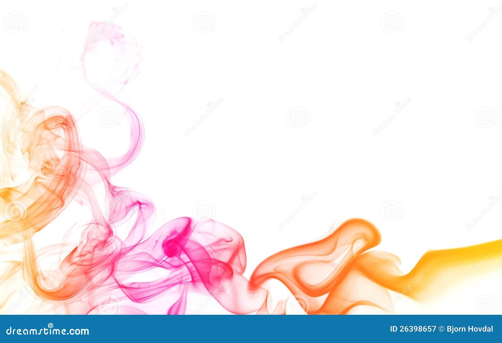 Fum e abstraite de couleur photographie stock libre de for Photographie de stock
