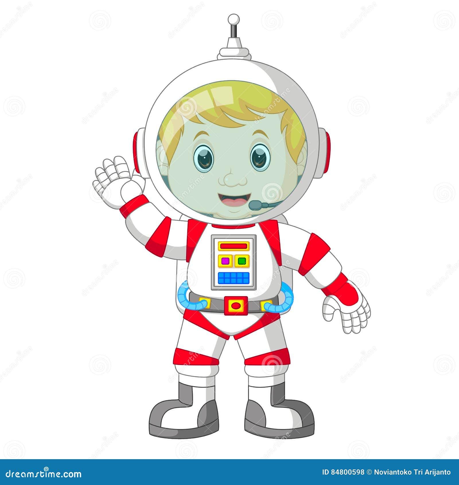 Fumetto dell astronauta