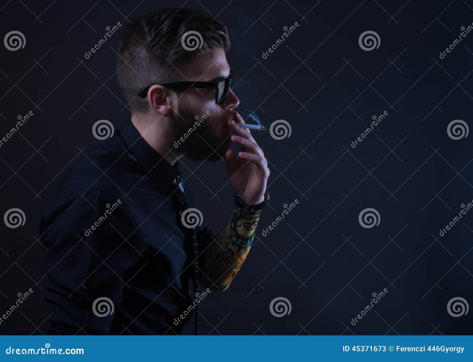 Fumeur de hippie