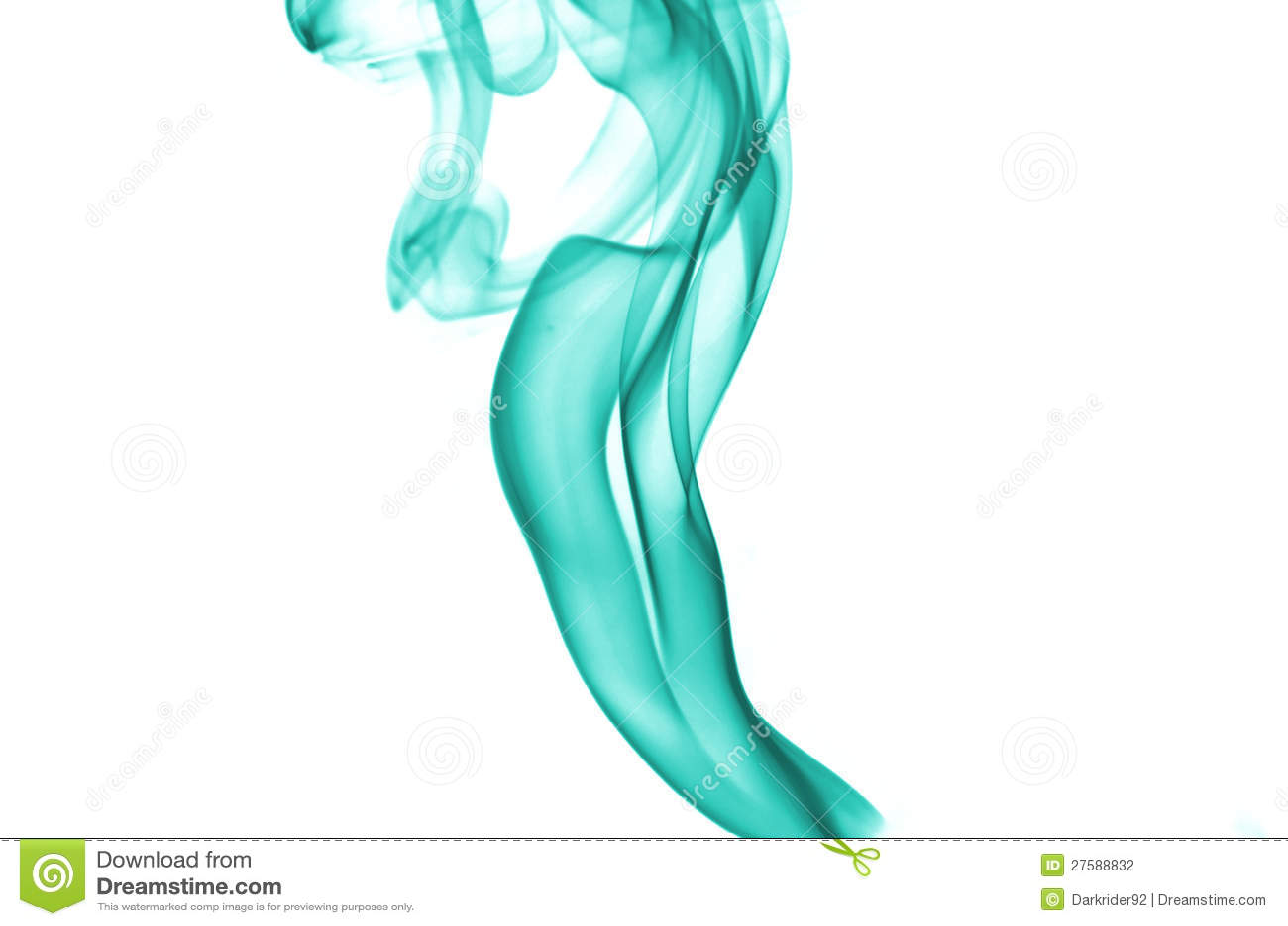 Fumo di colore del Aqua