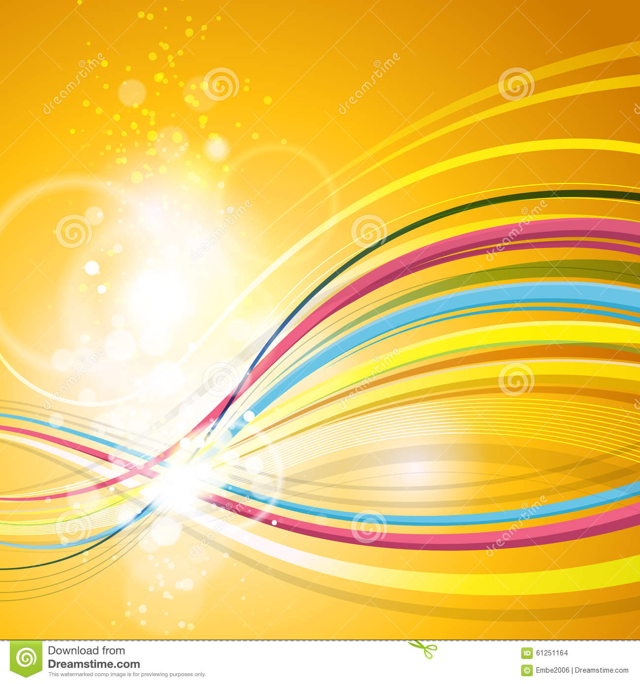 Fun Abstract Party Background