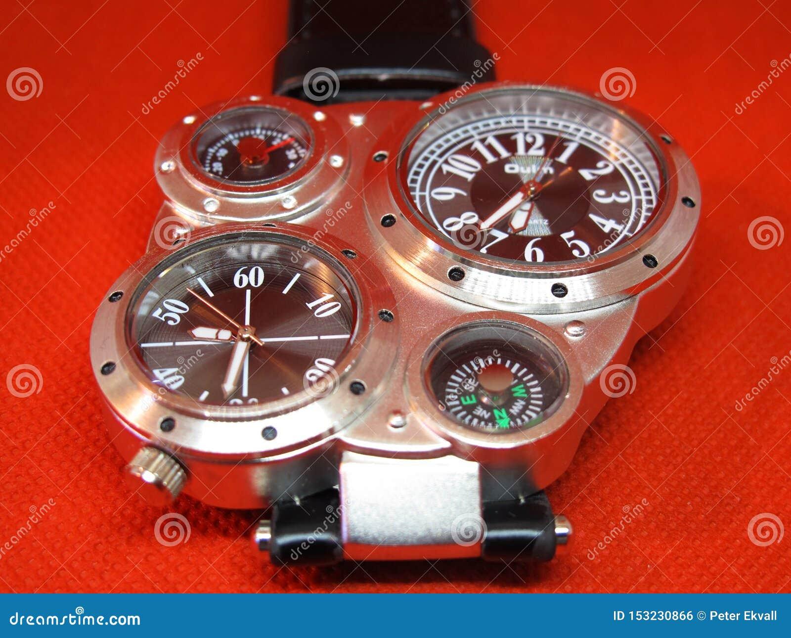 Fun and advanced wristwatch in studio