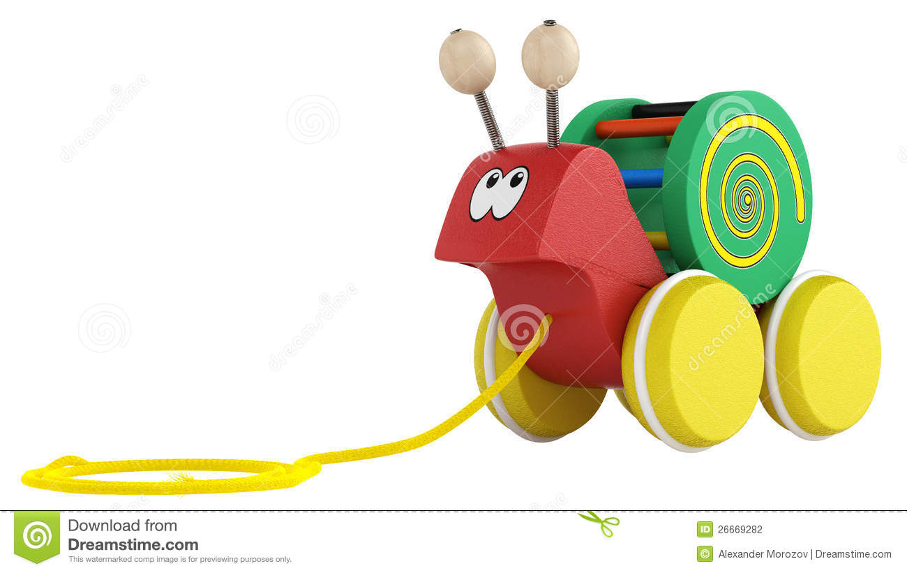 Fun Cartoon Snail Toy Stock Photography Image 26669282
